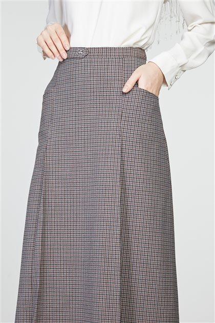 Skirt-Plum TK-Z8625-10