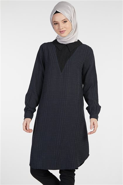 Tunic-Navy Blue TK-Z9406-08