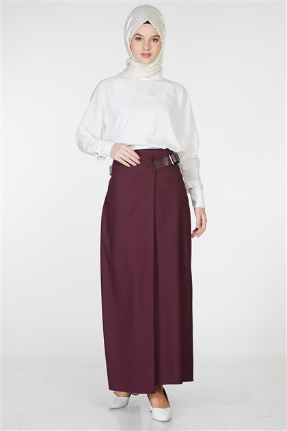 Skirt-Claret Red TK-Z3614-30