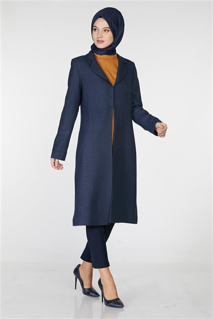 Tunic Suit-Navy Blue TK-Z6801-08