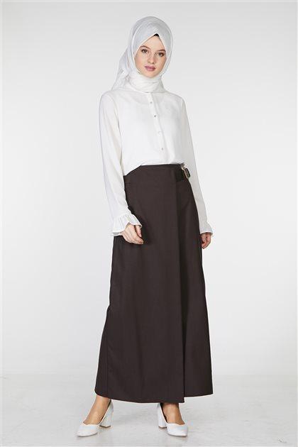 Skirt-Brown TK-Z3614-04
