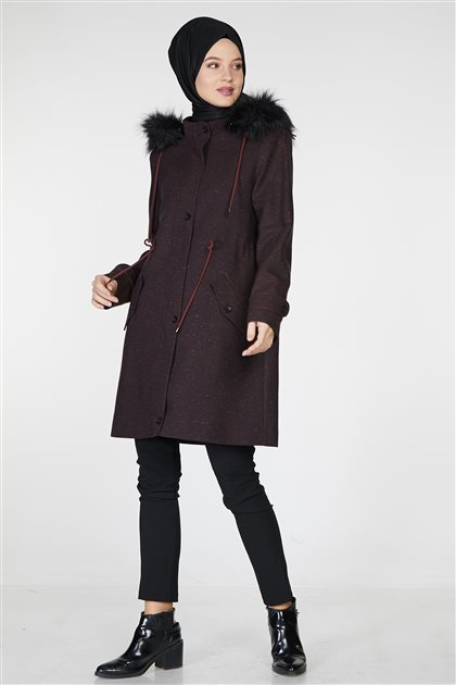 Coat-Claret Red TK-Z7316A-30