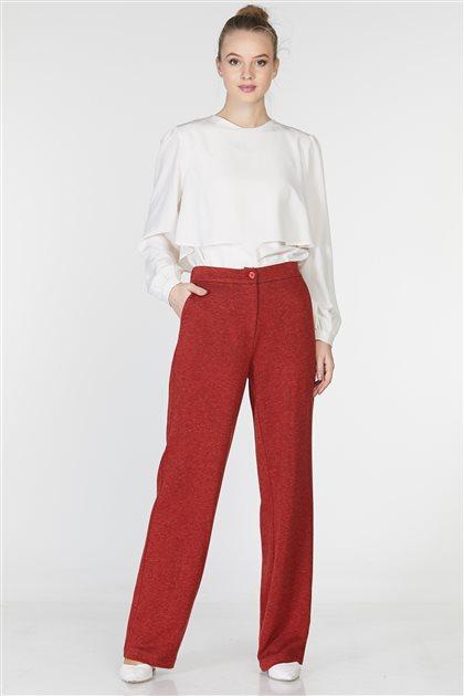 Pantolon-Kırmızı TK-Z7625-11