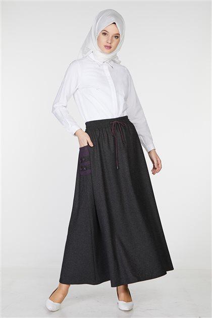 Skirt-Black TK-Z8619-09