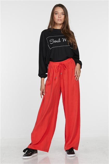 Pants-Red 4660-34