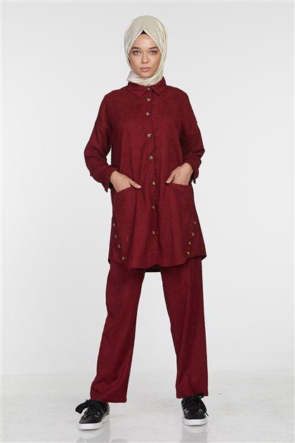 Suit-Claret Red PL-520-26