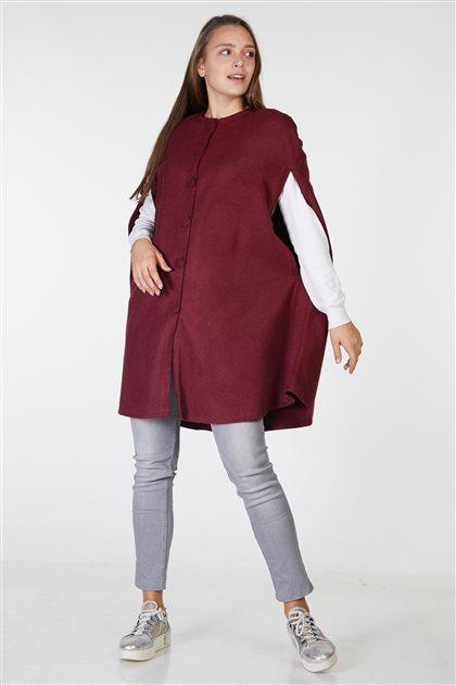 Poncho-Claret Red UU-1105-67