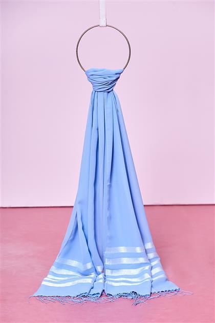Kayra Shawl-Blue KA-B9-SAL22-09