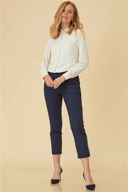 Pants-Navy Blue KA-B9-19160-11