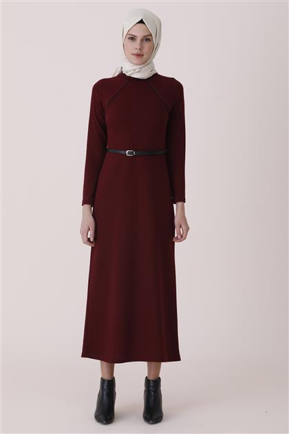 Dress-Claret Red 1233-67