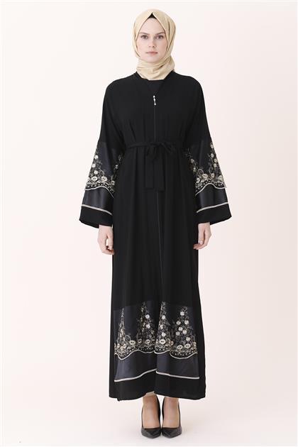 Abaya-Black 7755-01