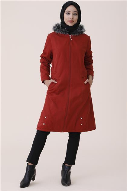 جاكيت طويل-أحمر قرميدي UA-9W1022-58