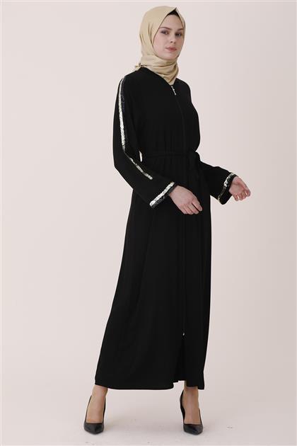 Abaya-Black 7821-01