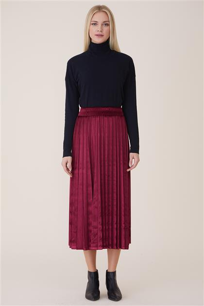 Skirt-Claret Red MS770-26