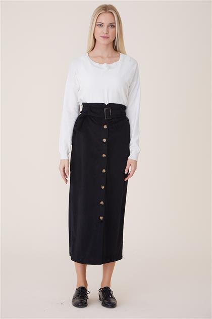 Skirt-Black MS219-12