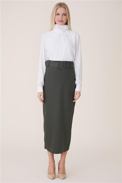 Skirt-Khaki MS927-21