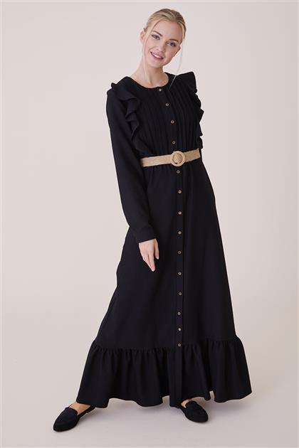 Elbise-Siyah 22139-01