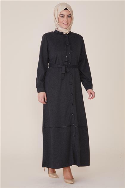 Abaya-Black 8219-01