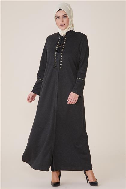 Abaya-Black 8202-01