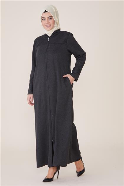 Abaya-Black 8201-01