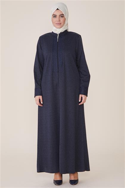 Abaya-Navy Blue 8212-17