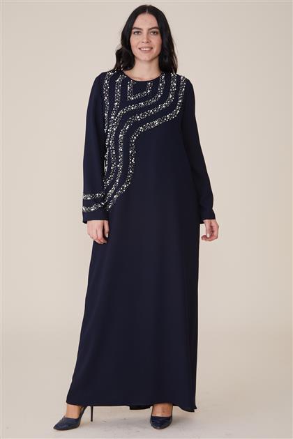 Dress-Navy Blue 19Y684-17
