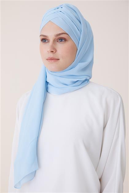شال بونيه ar-2071 أزرق الرّضّع