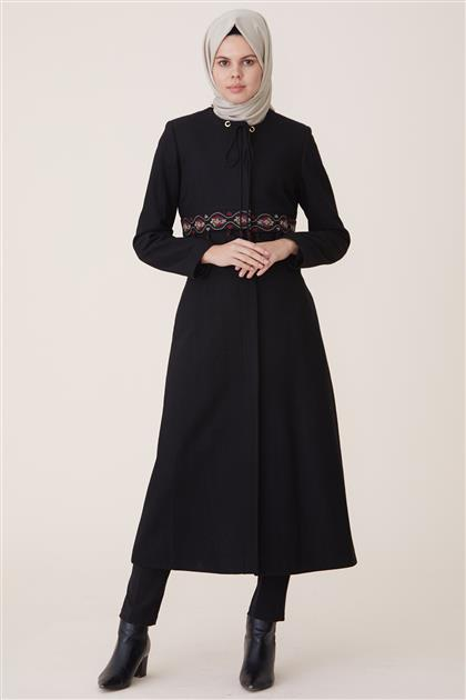 Coat-Black DO-A7-57037-12
