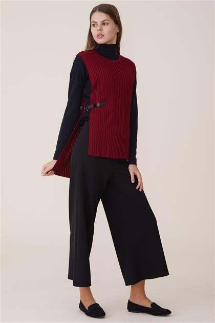 Blouse-Claret Red 8023-67