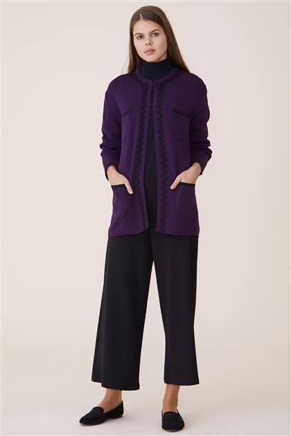 Cardigan-Purple 6073-45