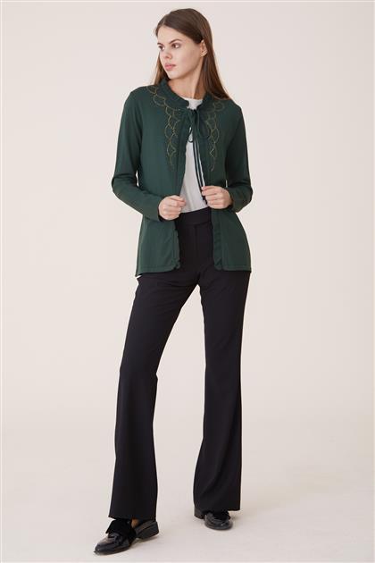 Cardigan-Green 8107-21