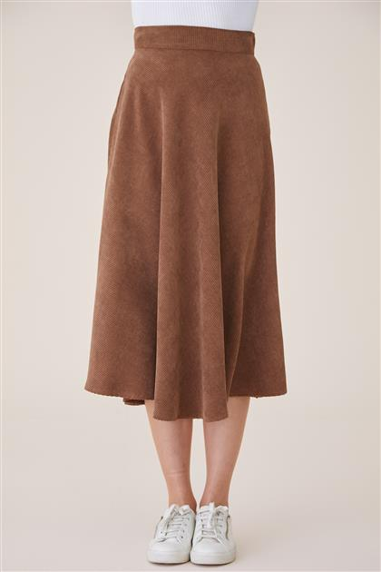 Skirt-Brown 4574-68
