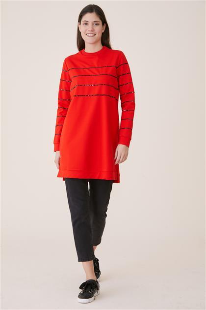 Sweatshirt-Kırmızı 19Y-MM21.0119-34