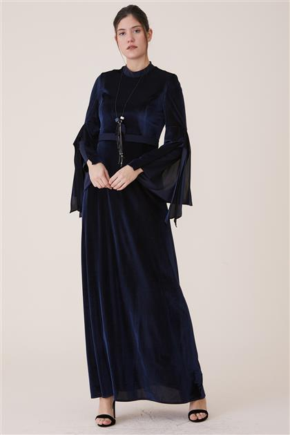 Dress-Navy Blue 18K2726-17