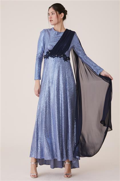 Dress-Navy Blue 19Y488-17