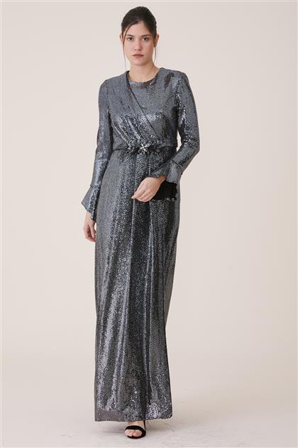 Evening Dress-Black 19Y182-01