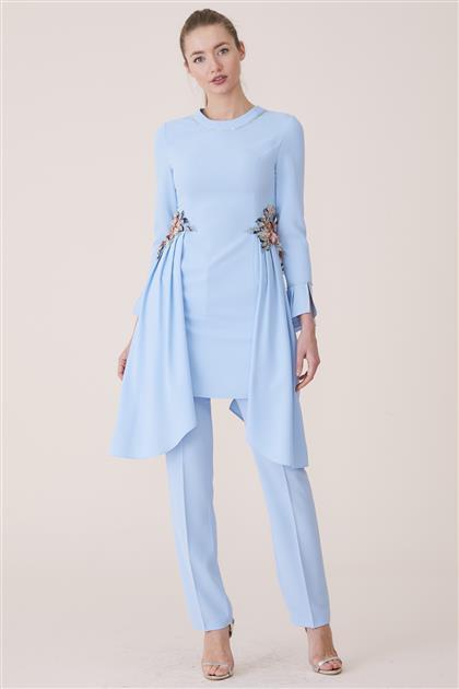 Tunic Suit-Blue 19K3010-70