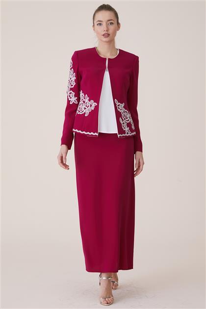 Suit-Fuchsia 18Y8250-43