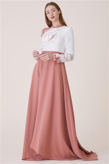 Dress-Orange 19Y8223-78