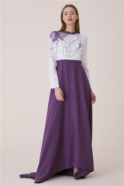 Dress-Dried rose 19Y8223-53