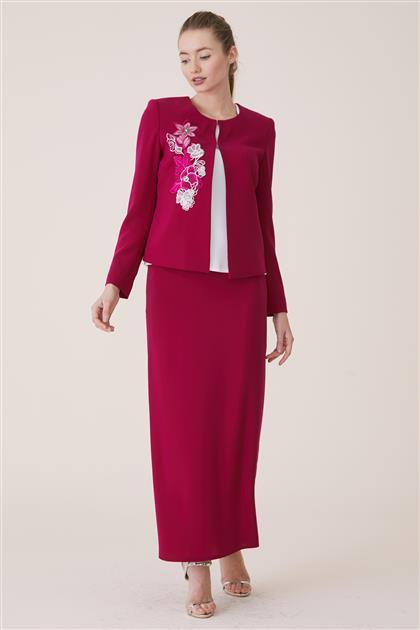 Suit-Fuchsia 18Y8420-43