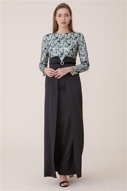 Elbise-Siyah KA-A7-23053-12