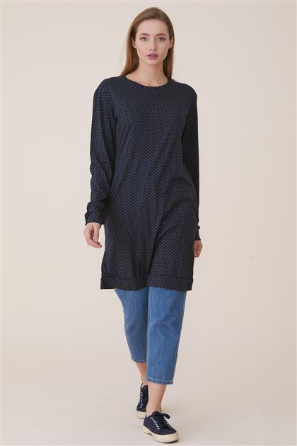 Tunic-Navy Blue TK5080-17