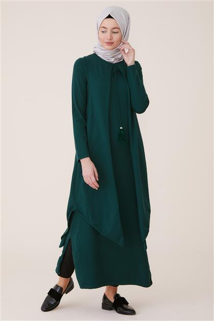 Knitwear Tunic-Green TK-L4056-22