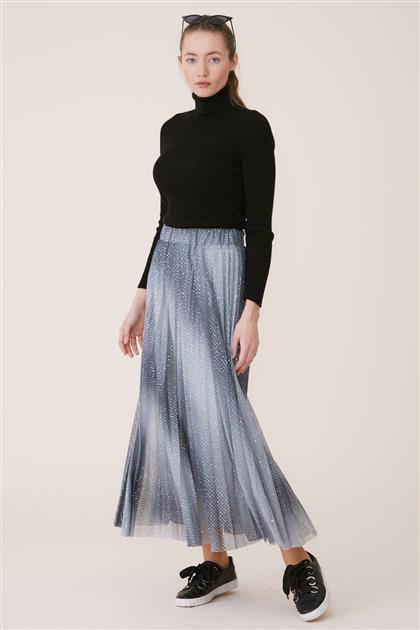 Skirt-Gray KA-B9-12039-07