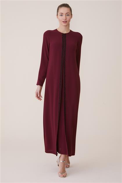 Dress-Claret Red KA-A8-23021-26