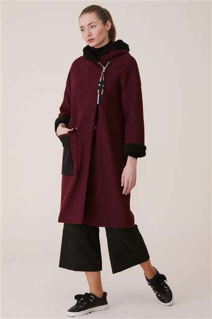 Coat-Claret Red KA-A8-17020-26