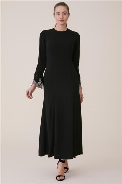 Abiye Elbise-Siyah KA-A7-23109-12