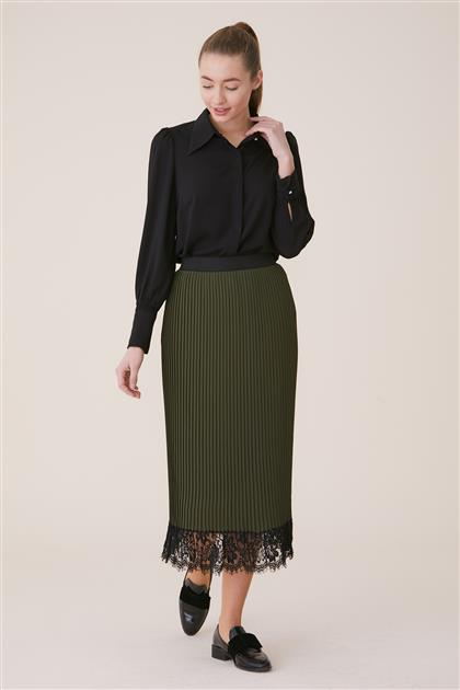 Skirt-Khaki BL2625-27