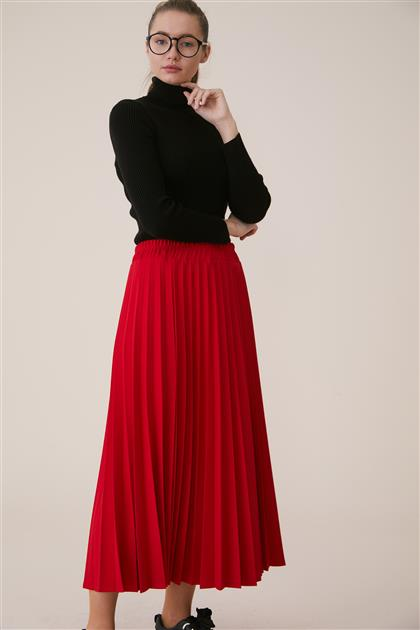 Skirt-Red MS116-34